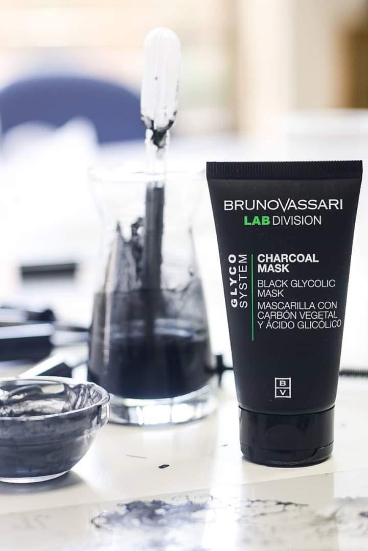 Charcoal Mask Bruno Vassari